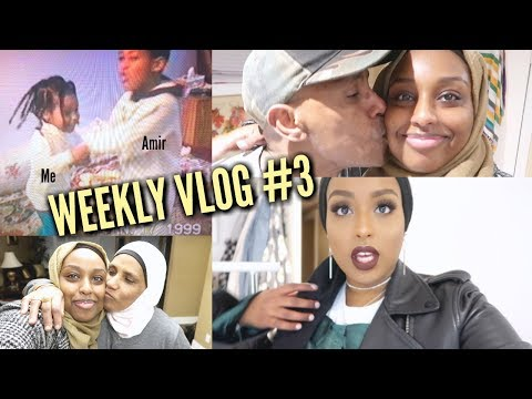 OUR BABY VIDEOS, HOLIDAY PARTIES & GOODBYES | Weekly Vlog #3 | Aysha Abdul