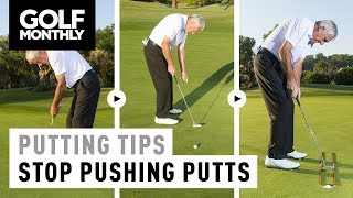 Video Putting Tips - How To Stop Pushing Putts download MP3, 3GP, MP4, WEBM, AVI, FLV Juli 2018