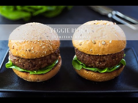 How to make healthy veggie burgers at homemade beef