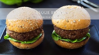 Grillable Veggie Burgers | Vegan, Gluten-Free