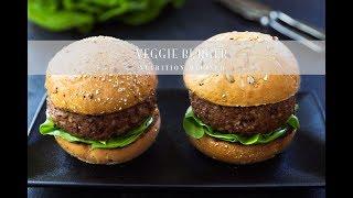 Grillable Veggie Burgers   Vegan, Gluten-Free
