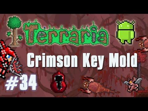 terraria how to get crimson key