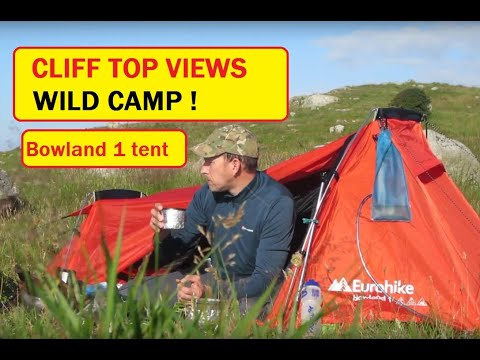 Wild Camp  - One Man Tent Bowland 1