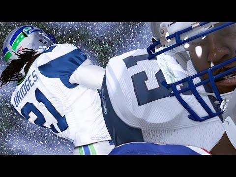 Madden 15 Career Mode Gameplay S3 - Bridges Knocked Out - Lot of Snow in Buffalo
