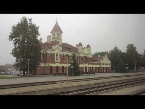 Train Trip 201609 Lithuania-Spain. Kaunas-Białystok