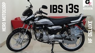 2019 Hero HF Deluxe IBS  i3s🔥🔥   most detailed review   features   specs   price !!!!