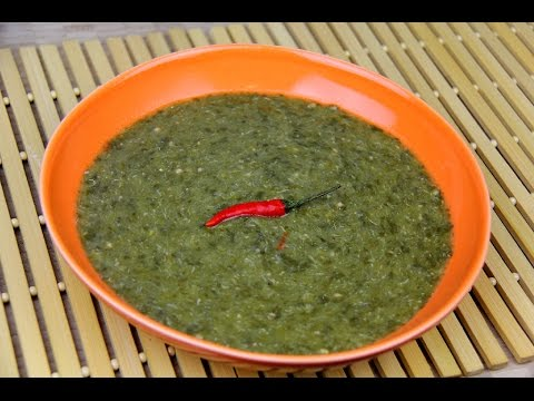 Gluten Free Vegetarian Callaloo Recipe [creamy spinach soup] Chris De La Rosa