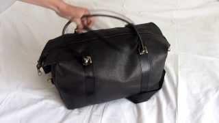 Обзор дорожной кожаной сумки Швигель (Shvigel)
