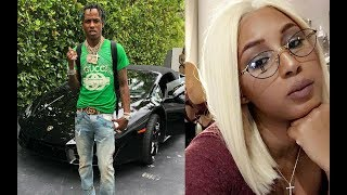 Rich the Kid's Wife says She's BROKE living at her Parents House, while he's CHILLING in LA with Bae