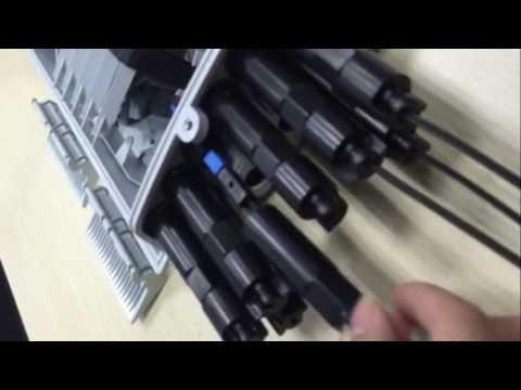 F2H-FTB-8-F Fiber Termination Box -  8 Cores -  Pre terminated FTTH Drop Cable
