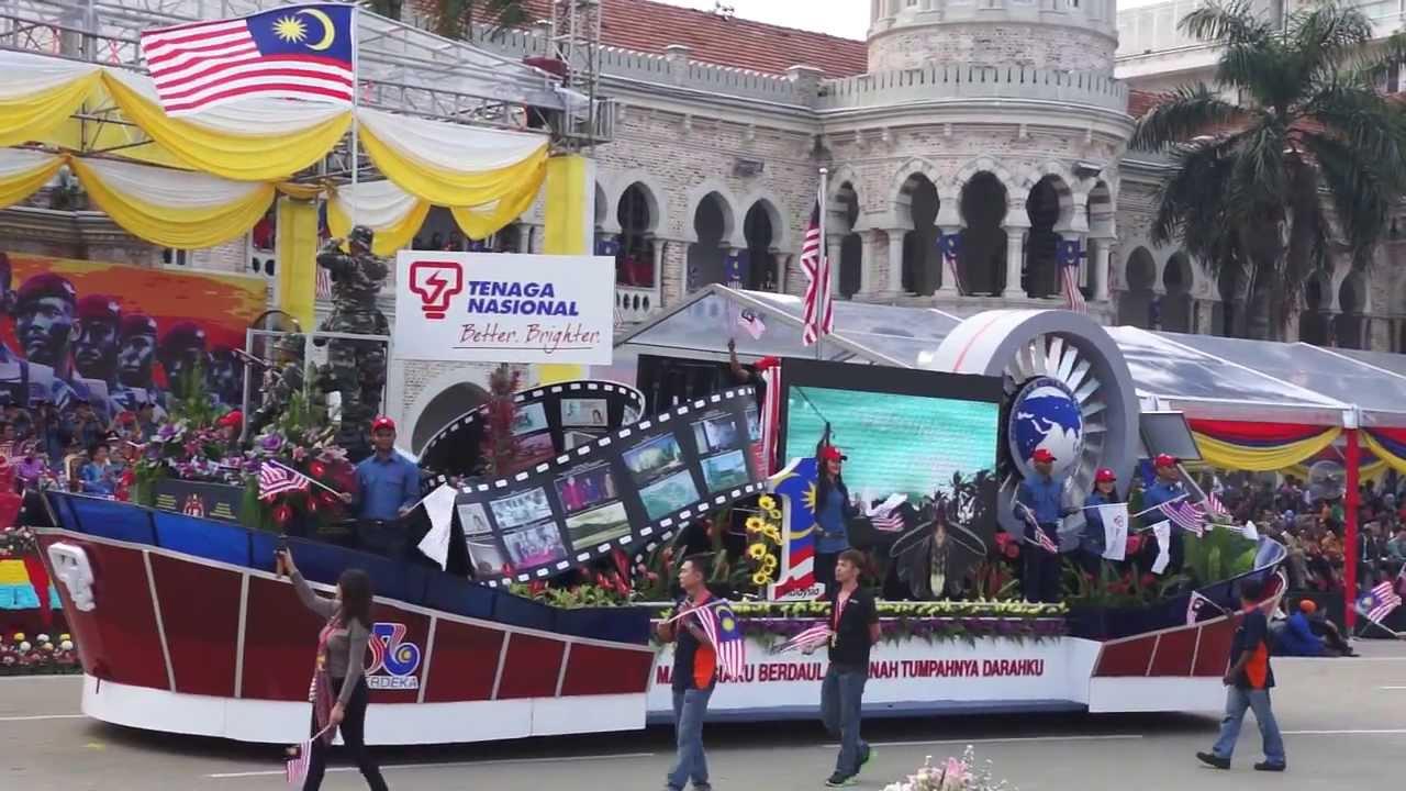 Sambutan Hari Kemerdekaan Malaysia 2013 Malaysian Independence Day Celebrations 2013 Youtube