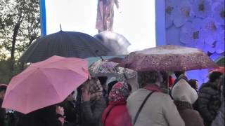 Прохор Шаляпин. Ах ты степь широкая. День Победы у музея Космонавтики.