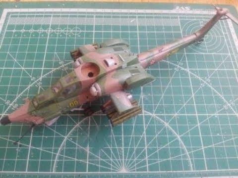 Сборка Ми-28А Звезда - шаг 3