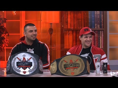 Zlato i srebro sa 'Megdana' - Vaso Bakocevic i Ljuban Vidovic - DJS - (TV Happy 17.04.2019)