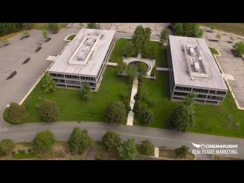 New Jersey Commercial Office Space Drone Aerial Property Tours