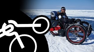 Winter Baikal | Full MOVIE | Baikal Lake Crossing by Recumbent Bike