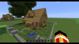 comment construire maison minecraft