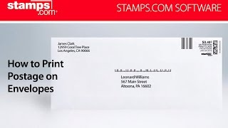 Stamps.com - How to Print USPS Postage on Envelopes