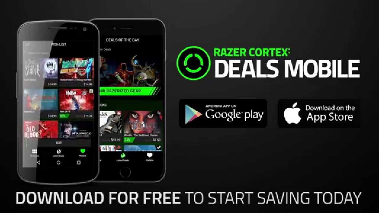 Razer Cortex: Deals Mobile