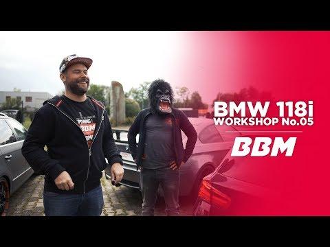 """""""JETZT IST ER EIN HAGENER""""   BMW 118i Workshop No.05 Klappenabgasanlage by BBM"""
