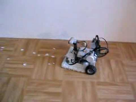 NXT room cleaning robot  YouTube