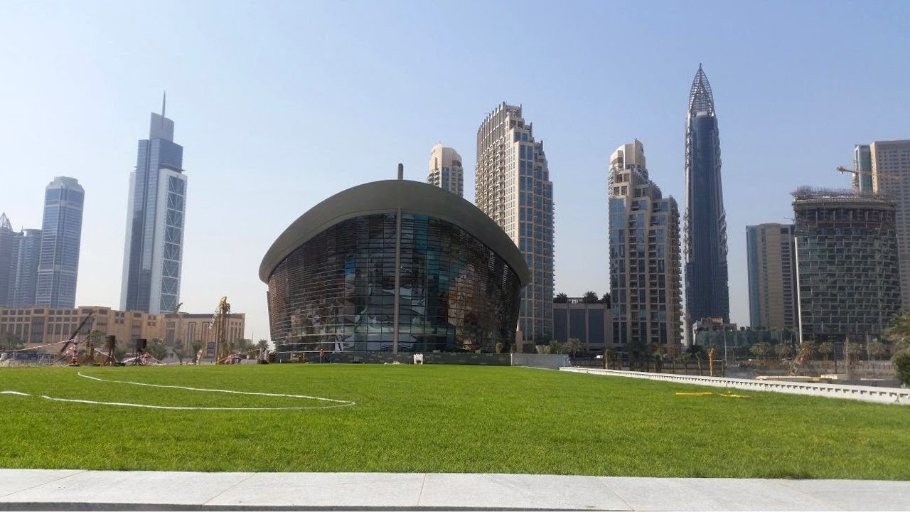 Dubai Opera Garden Green Roof & Greenwalls - Project of ...