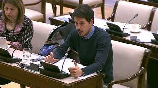 Segundo González en la comisión Mixta para las Relaciones con el Tribunal de Cuentas