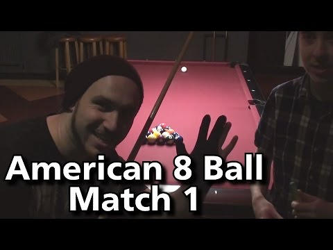 American 8 Ball Pool Match 1- 2015 (With JustMitchPool)