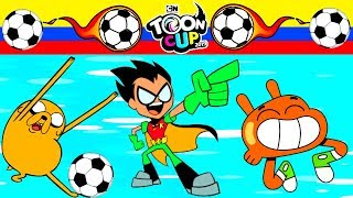 TOON CUP 2019 - DARWIN, JAKE AND ROBIN PLAY SOCCER (TOURNAMENT) - CARTOON NETWORK GAMES