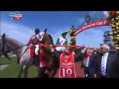 Fly Emirates - Melbourne Cup 2015  Full Race - Michelle Payne Winner