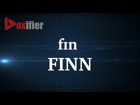 How to Pronunce Finn in English - Voxifier.com