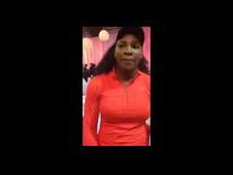Serena Williams QA at WTA AllAccess Hour at Rogers Cup Toronto  Canadian Open  August 10 2015
