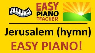 An easy piano tutorial/lesson by #EPT teaching you how to play Jerusalem on the keyboard (hymn). Anyone can learn to play from my super easy piano videos!
