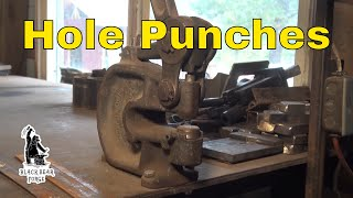 Whitney hole punches - tool of the day
