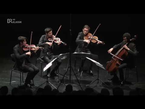 ARD-Musikwettbewerb 2016, Finale Streichquartett - Quatuor Arod, Frankreich - BR