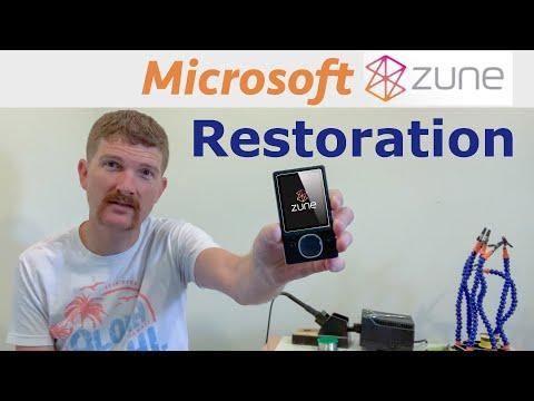 Microsoft Zune 80GB - Bringing It Back To Life.