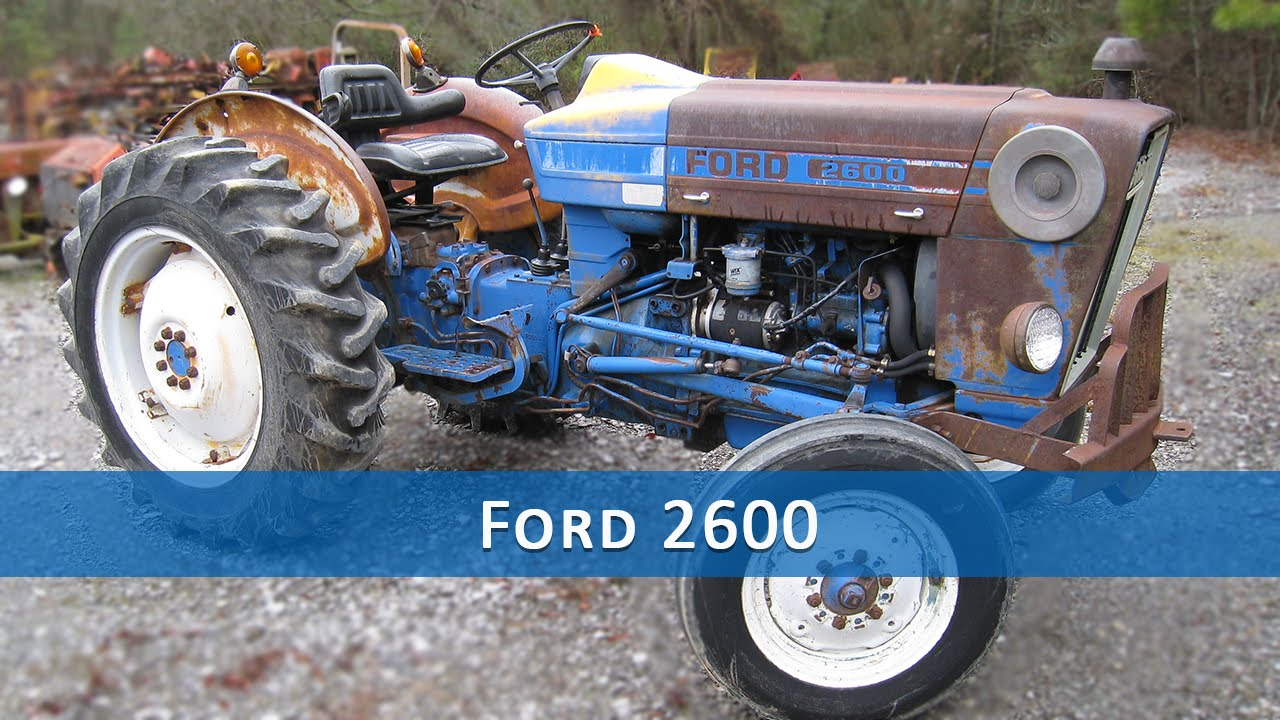 Ford 2600 Tractor Parts Youtube 2810 Wiring Diagram Series