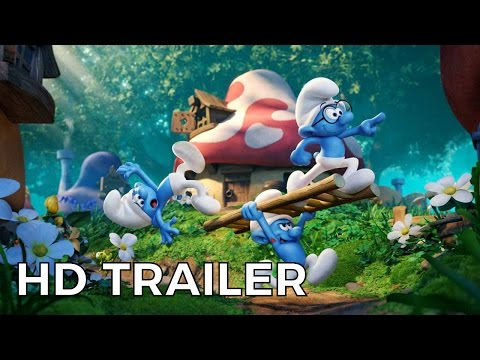 Smurfs׃ The Lost Village - Official Trailer #1 HD (2017) Kelly Asbury