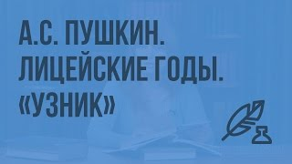 А.С. Пушкин. Лицейские годы. «Узник». Вольнолюбивые устремления поэта. Видеоурок по литературе 6