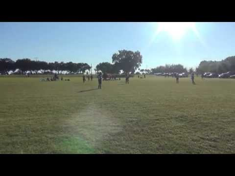 Game 7 U9 Fall 2014 vs MAITLAND FLORIDA KRUSH SKY BLUE Second Half
