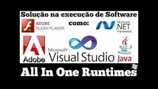 All in One Runtimes pacote de programas essenciais para jogos