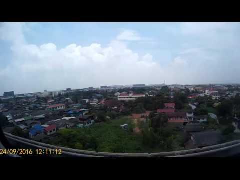 Bangkok rail-link views...