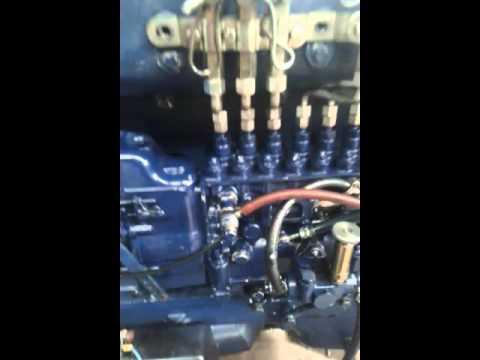 Puesta punto  Motor weichai wd 615