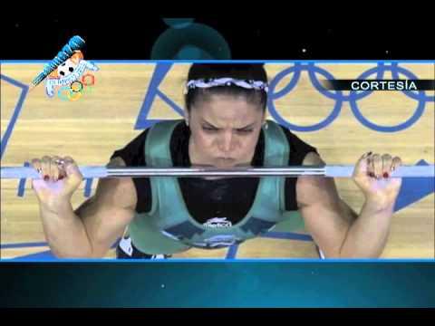 Luz Acosta sexto lugar Juegos Olímpicos Londres 2012