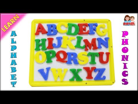 Learn Alphabets for Kids with Phonics | Phonetics for Children | Alphabet Slate for Children