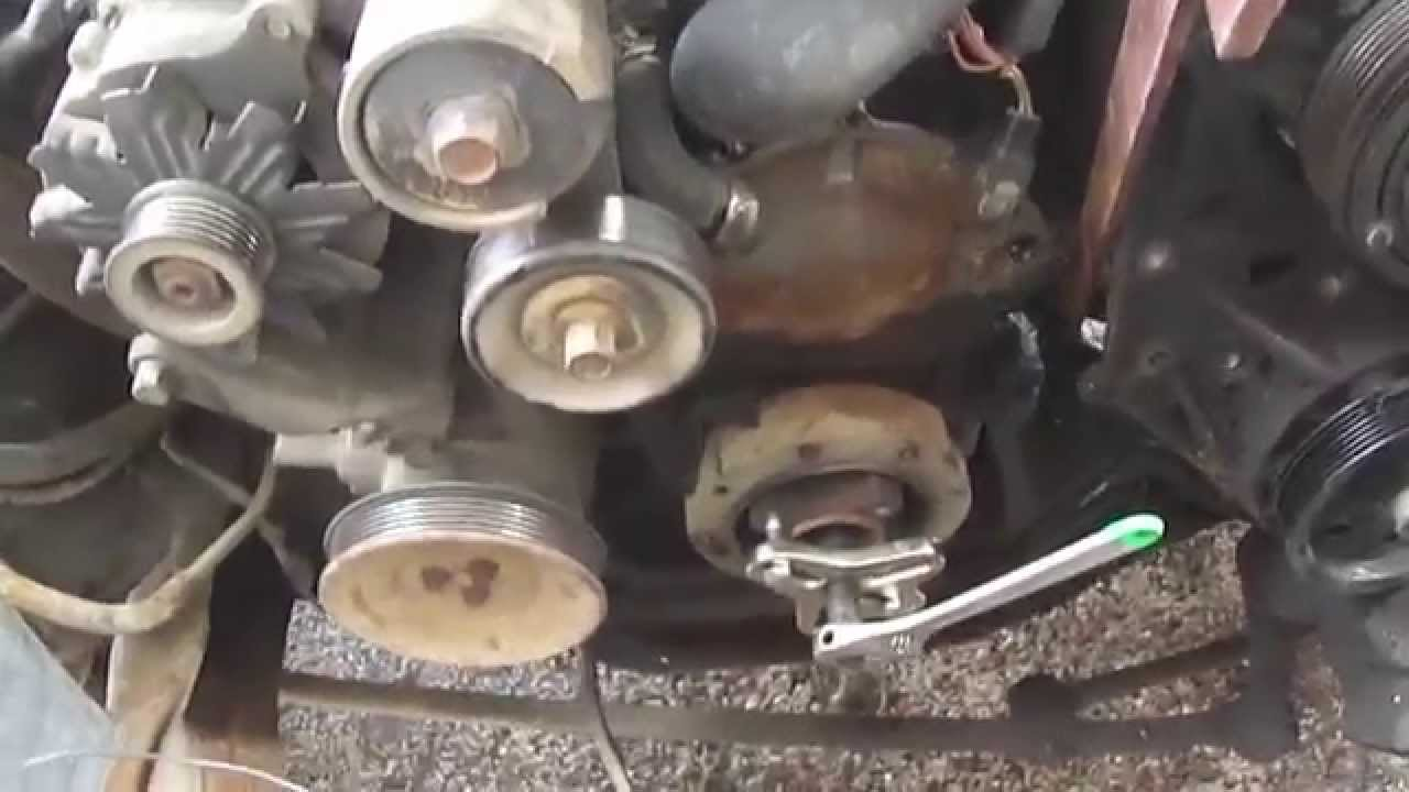 hight resolution of how to remove a broken water pump bolt