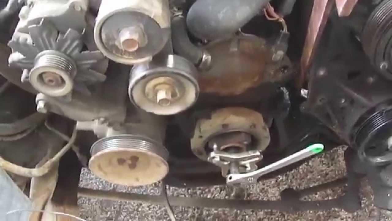 how to remove a broken water pump bolt [ 1280 x 720 Pixel ]