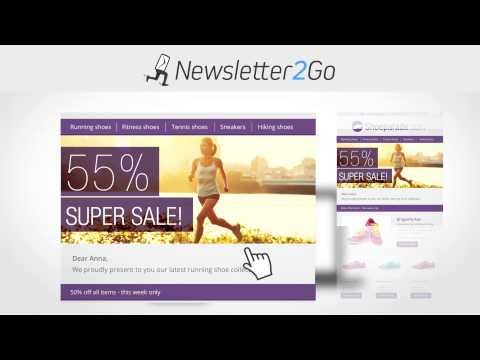 Newsletter2Go Email marketing software - send powerful newsletters