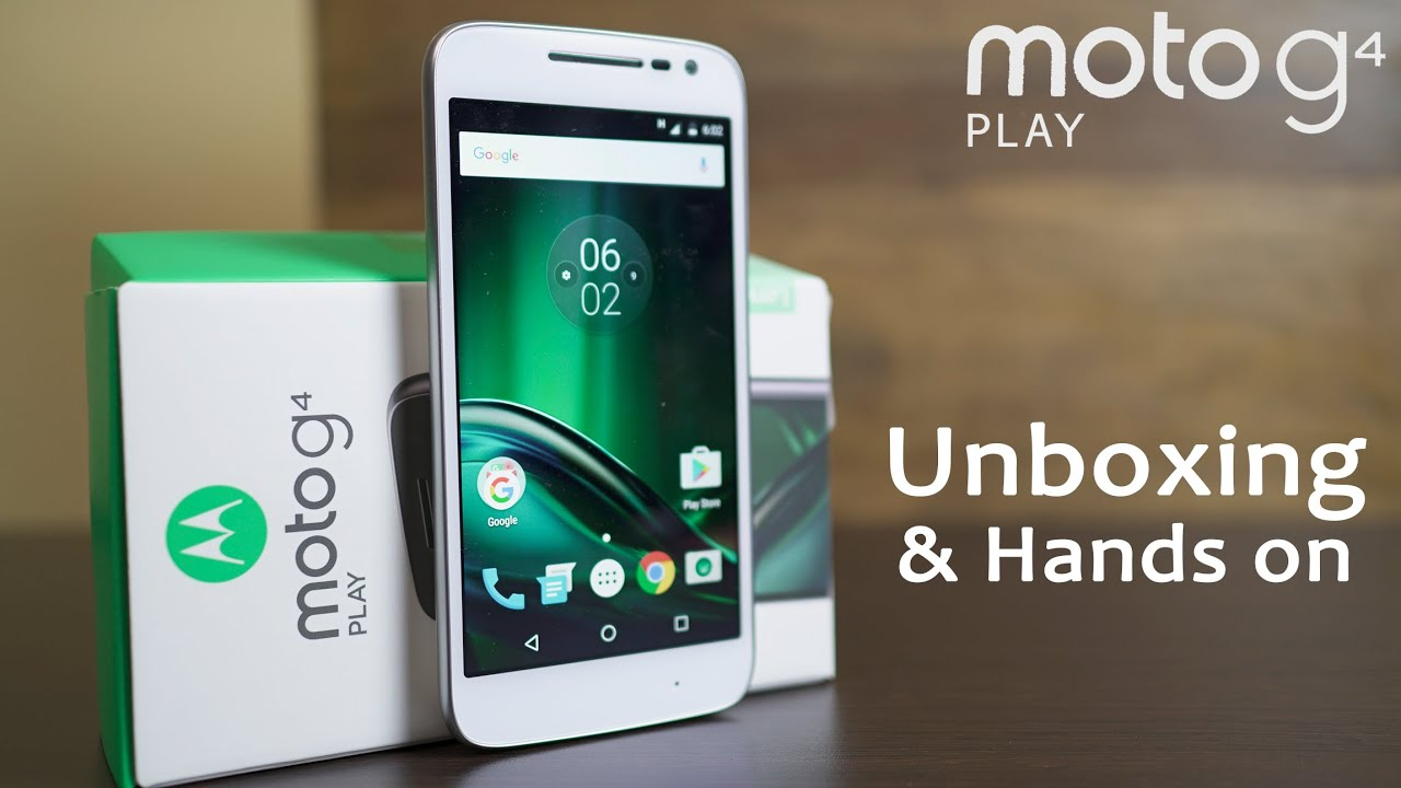 MOTO G4 PLAY Unboxing & Hands On Review (vs Redmi 3S Prime