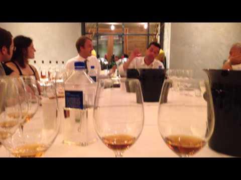 Beverly Hills @wallysBH learning the value of #Armagnac #singledistillation master Marc #Darroze